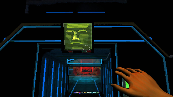 "Parts of the game take place in a science-fiction-themed, System Shock-era iteration of ""The Magic Circle"", which was nearly finished but never released."