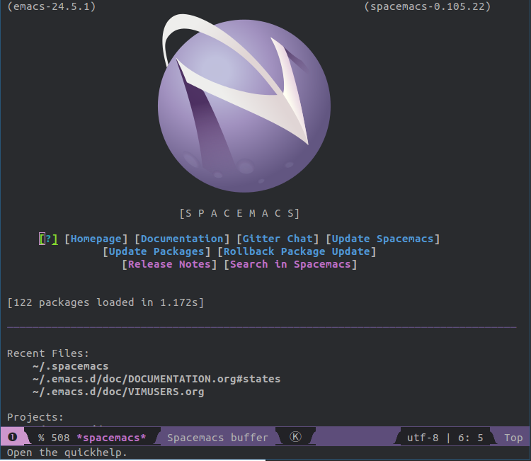 Emacs + Vim + the spacebar