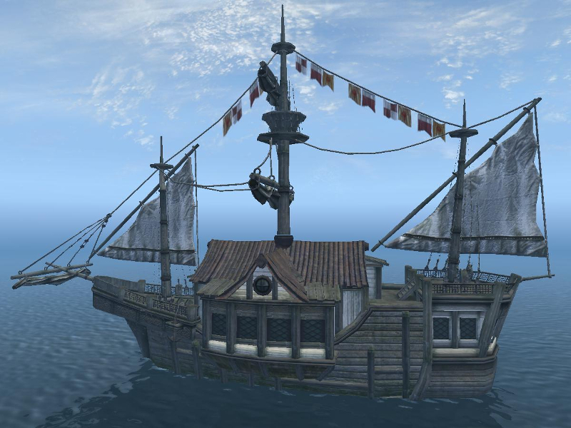 The Bloated Float out at sea (Oblivion).