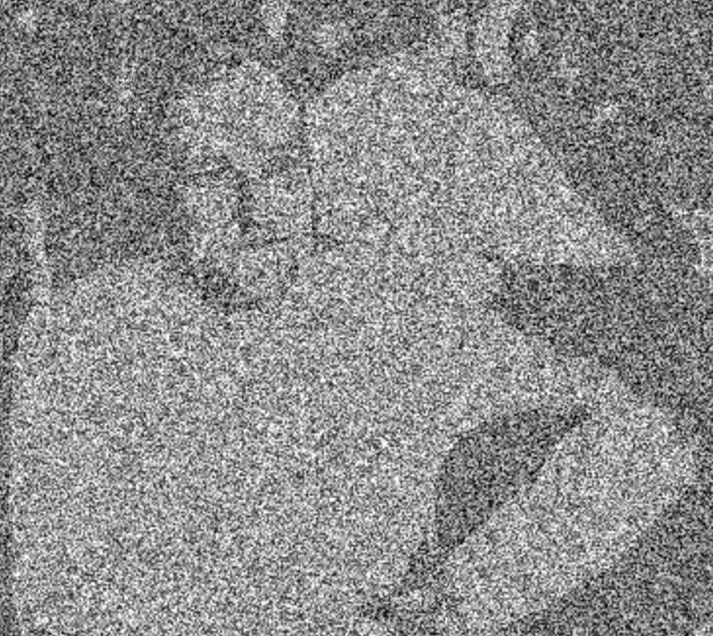 Through a GIMP filter, darkly