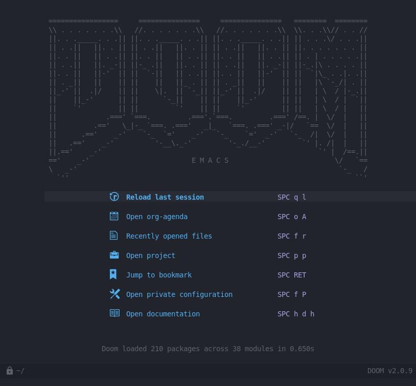 Emacs + Vim + the spacebar - a bunch